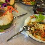  Phat Thai with coconut juice