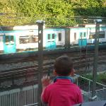 can watch tram so popular with trainspotters