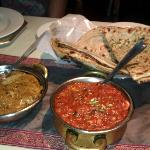 PKB, kadahi paneer and assorted paranthas
