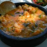 Shrimp Casserole at Ikiz beach r