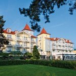 Strandhotel Zinnowitz Exterior