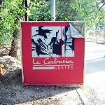 Le Corbusier Centre sign outside