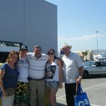  Jordan and our family dockside in Athens July 2012