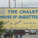Chalet House of Omelettes