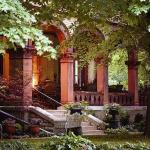 The Vrooman Mansion - the Side Porch