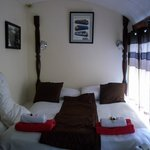 our bedroom at the sidings