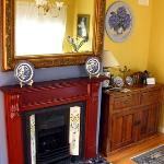 Granger lounge room - victorian fireplace