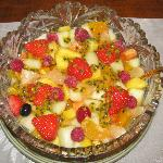 Our delicious fresh fruit salad