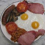 Our tempting traditional full English breakfast