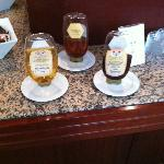 Honey selection.