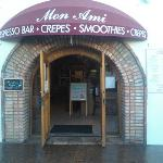 Front entrance of Mon Ami