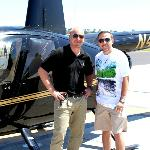 Me & my awesome pilot Jake!