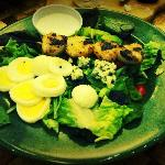  Fish House Cobb w/Scallops Salad $15.95