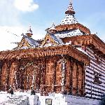 Buddhist Pagoda with great woodcfart