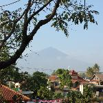 View towards the mountain southern of Garut