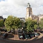 A view over the Gravenhof square