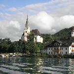  Gorgeous view of Maria Worth (the town) from the lake