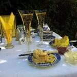 Tea, Scone, Lemon Drizzle & Champagne