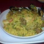 My paella was very good I even ate some mussells