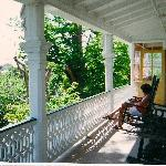  porch on 2nd floor