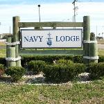 Navy Lodge Entrance