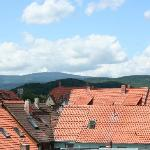  View towards the Brocken from bedroom window.