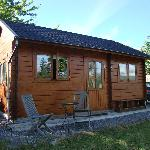 Hill Cottage Log Cabin Picture