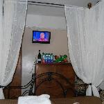 TV from the bed