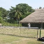 Nikoi Island Grass Tennis Court