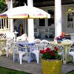  Backyard Porch And Deck Area