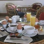 Breakfast at Pension Avra