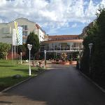  Main entrance to the hotel