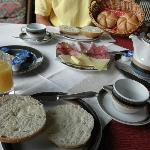  breakfast - there is a small buffet with a typical variety of muesli, yogurt etc.