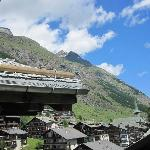 The view from our suite, a wonderful view of Zermatt and the Mountains in the background  (44797939)