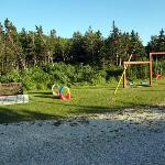 Small play area at Cozy Corner Cottages