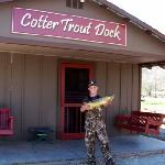 Cotter Trout Dock Guided Trout Fishing Tours