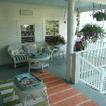 Porch area for gathering