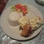  Lobster and White Rice