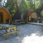 pods and picnic tables