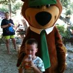 Truett and Yogi Bear