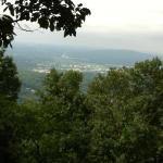 view of Huntsville from Burritt on the Mountain