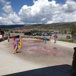 splash pad at Freedom Park