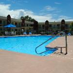 Renovated biggest swimming pool among Santa Fe Hotels