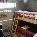 "Our Room #5, ""single"" bunks, great for back packers!"