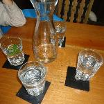 Japanese Waterfilter Water, Old Computer Disks are Coasters