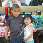  our grandson Jaden and his friend Fiona