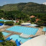 One of the largest swimming pools at Agua Sol Alegria