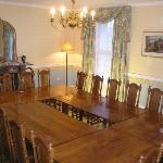  Dining room at Cholwell Hall