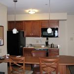  One Bedroom Suite Kitchen Area