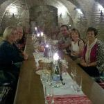  palinka tasting in the cellar